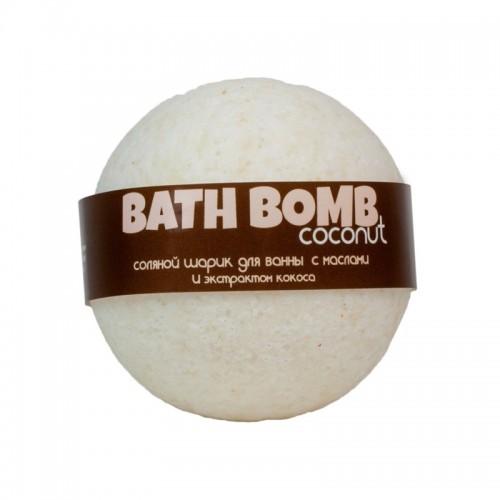 Бомбочка для ванн с маслами и экстрактом Кокоса от Savonry