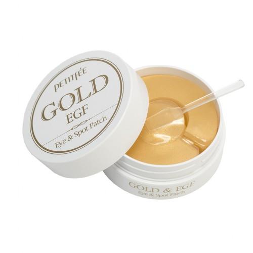 Гидрогелевые патчи с Золотом и EGF от Petitfee & Koelf
