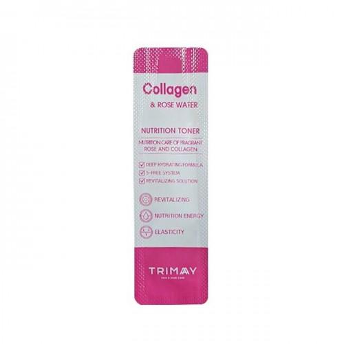 Тонер с Коллагеном и Розовой водой 1 мл от Trimay